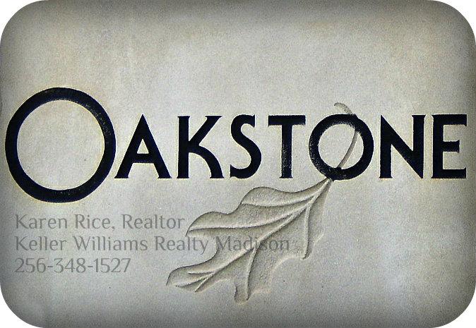Oakstone Madison AL Entrance